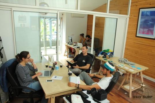équipe 360°Surf team créateur de surf trip