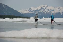 Surf en Eau Froide… L'Alaska avec Damien Castera
